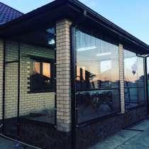 Уличные шторы ПВХ для кафе, ресторанов, беседок, веранд, в Краснодаре