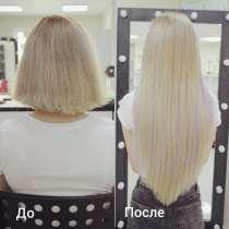 Точечное наращивание волос (афронарашивание), в Воронеже