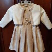 Нарядное платье с болеро для девочки 98 размер, в Москве
