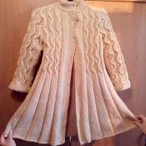 Пальто для девочки спицами, в Вологде