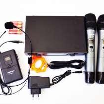 Радиосистема Shure SH-600G3 база 2 радиомикрофона + гарнитур, в г.Киев