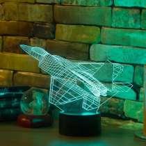 3D светильник истребитель, в Москве