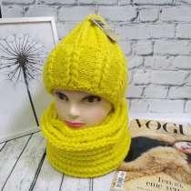 Комплект шапка и шарф, в Москве