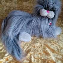 Мягкая игрушка Котик с добрыми глазами, в г.Бровары