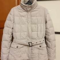 Утепленная женская куртка бежевого цвета, в Челябинске