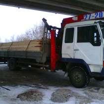 Водитель сличным грузовым борт+кран с кму, в Красноярске