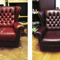 Ремонт реставрация мебели перетяжка кресел стульев Подольск, в Подольске