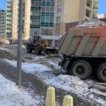Вывоз снега, благоустройство территории, в Екатеринбурге