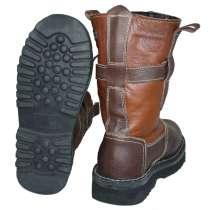 Мужские кожаные сапоги новые, в Магадане
