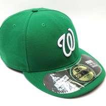Бейсболка кепка Washington Nationals MLB (зеленый), в Москве