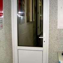Межкомнатная металлопластиковая дверь+работа=7150 рублей, в г.Донецк