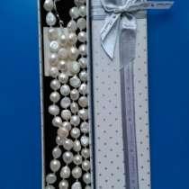 Ожерелье из натурального необработанного жемчуга, в Москве