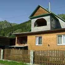 Дом для отдыха в Чемале, в Горно-Алтайске