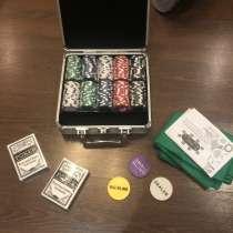 Профессиональный набор для покера(200 фишек), в Волжский