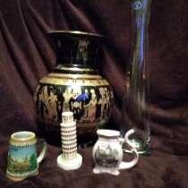 Ваза с египетскими сюжетами, высота 24 см, сувениры, ваза, в Санкт-Петербурге