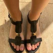 Женские босоножки (сандали) черного цвета (36.5 размер), в г.Киев