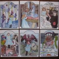 """Комплект открыток """"Алиса в стране чудес"""", в Туймазах"""