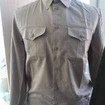 Рубашки военные хаки для пожарной службы и для урока НВП, в г.Костанай