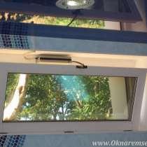 Врезка фрамуги в глухое окно, в Уфе