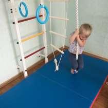 Шведская стенка(детская)+канат+кольца+веревочная лестница, в Тольятти