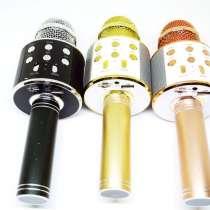 Караоке Wester WS-858 Беспроводной стерео микрофон с динамик, в г.Киев
