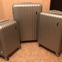 Пластиковые чемоданы новые, в Екатеринбурге