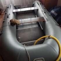 Надувная лодка ПВХ SILVERADO 33S под двухтактным Mercyri 15, в Перми