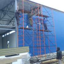 Монтаж любых металлоконструкций в Новосибирске, в Томске