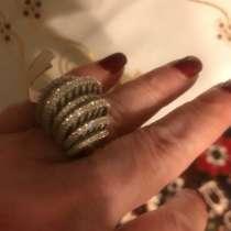 Кольцо серебро, в Москве