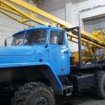 Установка разведочного бурения УРБ-2Д2, в Москве