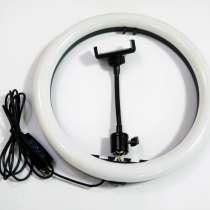 Кольцевая LED лампа SMN-12 30см 1 крепл. тел USB, в г.Киев