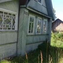 дом 1-этажный дом 48 м² (бревно) на участке 17 сот, в Старой Руссе