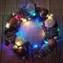 Новогодний веночек, в Калининграде