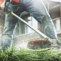 Покос травы, в Павловском Посаде