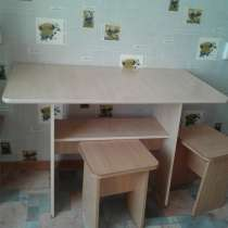 Продам кухонный стол с 4 стульями в хорошем состоянии, в г.Кокшетау