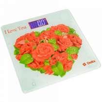 Весы напольные Delta D-9217 Розы для любимой, в г.Тирасполь