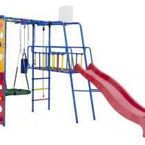 Уличный детский спортивный комплекс Street 3 со скалодромом, в Нягани