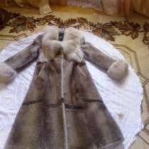 Шуба натуральный мех размер 46-50 цена 10000, в Александрове