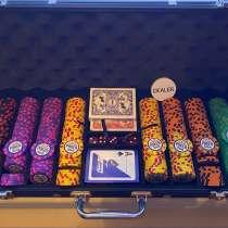 Набор фишек для покера 500 штук, в Санкт-Петербурге