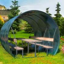 Новые садовые беседки Красавицы, в Оренбурге