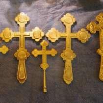 Коллекция из 9-ти старинных напрестольных крестов. XIX век, в Санкт-Петербурге