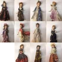 Кукла фарфоровая коллекционная «дамы эпохи», в Колпино