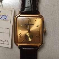 Золотые механические часы «МакТайм», в Махачкале