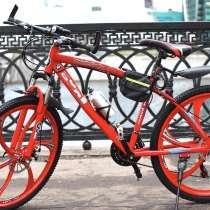 Велосипед на литых дисках, в Москве