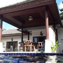 For sale one-storey villa with swimming pool in Thailand, в г.Так