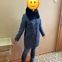 Пальто женское демисезонное, в Тихвине
