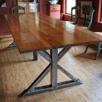 Большой стол из массива дерева, в Бийске