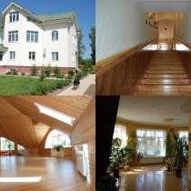 Жилой 632 м2 дом, гараж и баня на 31,5 сотках. Пмж, в Рузе