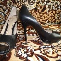 Модельные женские туфли из натуральной кожи, в Ессентуках