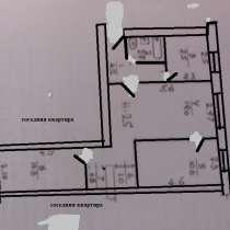 3-к квартира, 54 м2, 1/4 эт. ул. Л. Толстого 60 Севастополь, в Севастополе